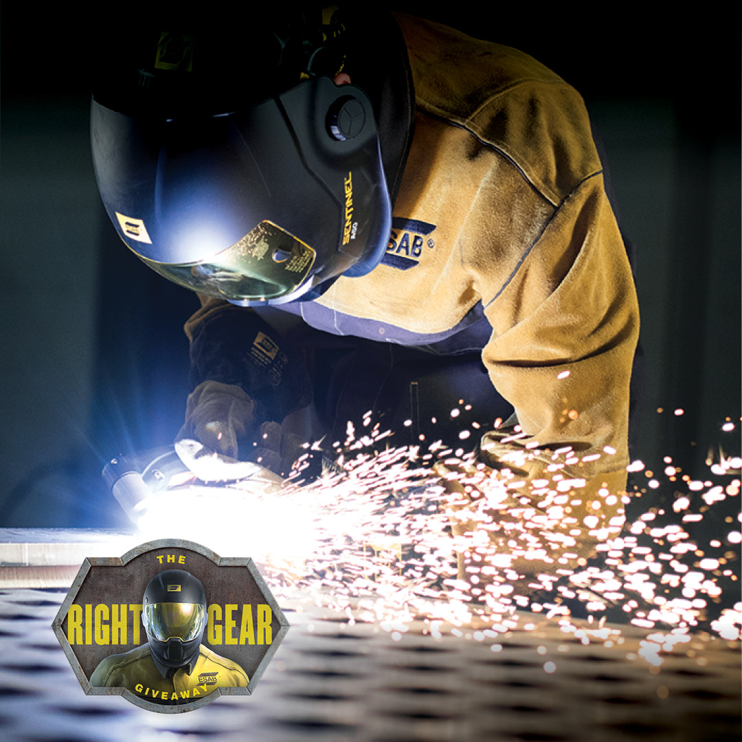 Enter ESAB's Right Gear Giveaway
